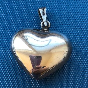 Taxco Mexico sterling chime musical heart pendant